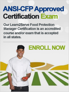 Food Safety Certification - Click to Choose State